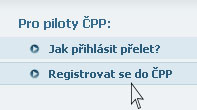 Registrovat se do ČPP